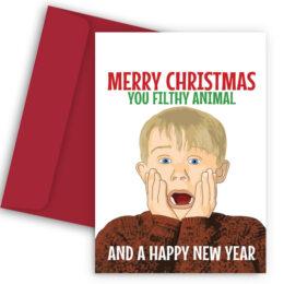 Χριστουγεννιάτικη Κάρτα Home Alone