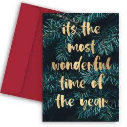 Χριστουγεννιάτικη Κάρτα Oh Deer