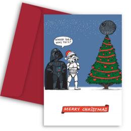 Χριστουγεννιάτικη Κάρτα Star Wars