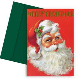 Χριστουγεννιάτικη Κάρτα Vintage Christmas