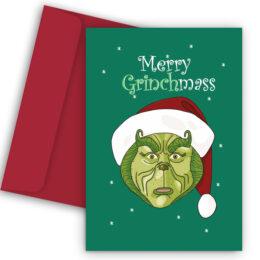 Χριστουγεννιάτικη Κάρτα The Grinch